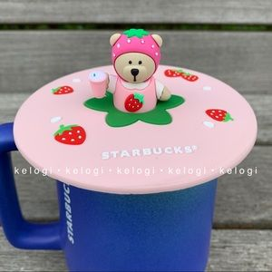 🍓NEW🍓Starbucks Bearista Strawberry Mug Cover